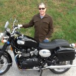 Jason Cross from Alexandria, Va with his 2005 Triumph Bonneville