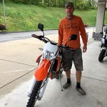 Congratulations to Joe on his new 2015 KTM EXC 500!