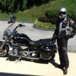 JOHANNES GOLL from Gaithersburg, MD with his 2001 R1200C.