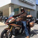John B. on his New  CUSTOM 2016 S1000XR.