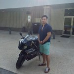 Seong and his 2017 S1000RR!