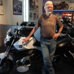 Juan and his BMW R1200R