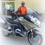 Kenny, 2016 BMW R1200RT.