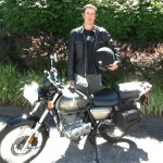 LANDO MCCALL from Silver Spring, MD and his 2011 SUZUKI TU 250.