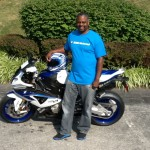 Samuel JR lee and his new S1000RR