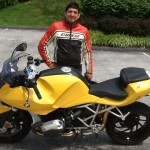 MARK BAXTER from Hanover, PA with his 2007 R1200S.
