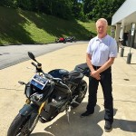Mark with his new 2017 S1000R!