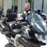 Marty C., 2016 BMW K1600GTL Exclusive.