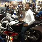 MATTHEW SMITH from WALDORF, MD with his 2012 BMW S1000RR