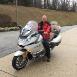 Mike and his new K1600GTL Exclusive.