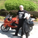 Mike Etson from Ellicott City, Md with his 2014 F800GT
