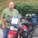 Steve and 2014 BMW F800GSA