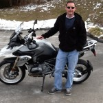 CHRIS RULEY  2014 BMW R1200GS