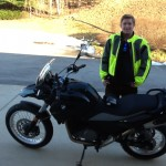 CHRISTIAN H. with his 2014 G650GS