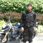 JOHN CARTHERN from Upper Marlboro, MD and his 2014 BMW S1000R
