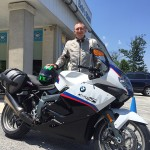 Robert with his K1300S.