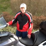 RONALD SHERMAN from BRANYWINE, MD with his 2000 BMW K1200LT