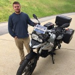 Ross and his new 2014 F700GS.