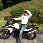 Scott Molley with his 2013 F800GS.