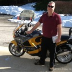 Scott B., 2000 BMW K1200RS.