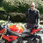 JONATHAN SPRICK with his 2015 S1000R from VIENNA, VA