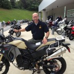 Steven with his 2012 BMW F800GS Adventure.