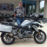Tim Hudspeth New 2014 R 1200 GS from PA