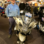 Tom and his 2017 R1200RT.
