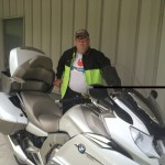 Wayne Thomas Florida with his k1600 GTL Exclusive.