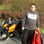 WALTER GARCEN from SEVERN, MD with his 1996 KTM SUPER DUKE