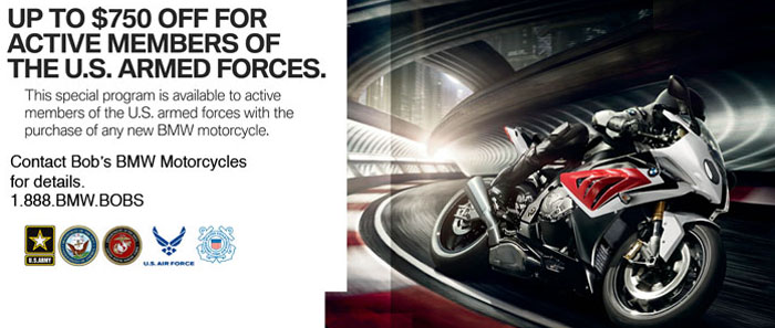 Military Savings at Bob's BMW