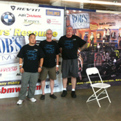 Bob's Team at 2012 Rally