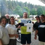 Chris Soden won Bob's door prize in Somerset PA.
