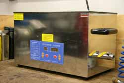 Ultrasonic cleaning image
