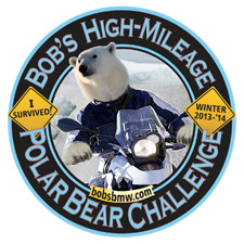 PolarBearChallenge Sticker