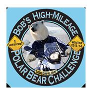 PolarBearChallenge Sticker
