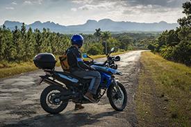 GS motorcycle in Cuba