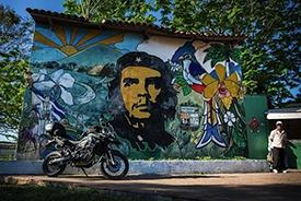 Mural of Che in Cuba