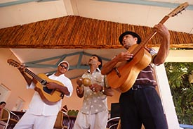 Guitar Players in Cuba