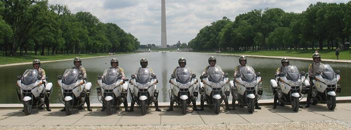 BMW Police bikes