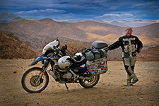 Allan Karl motorcycle adventure writer.