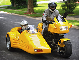 Duetto Sidecar rig