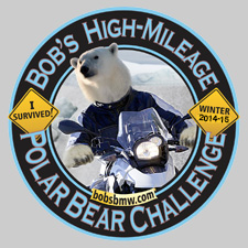 Polar Bear Challenge Sticker