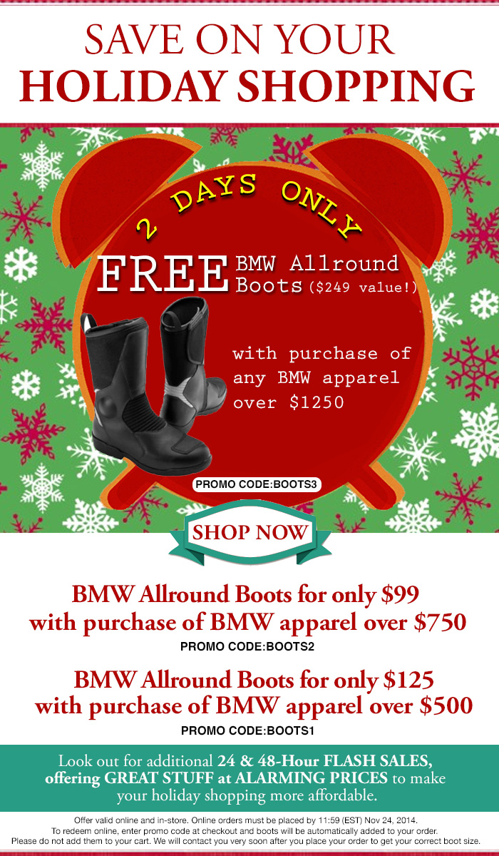Flash sale at Bob's BMW