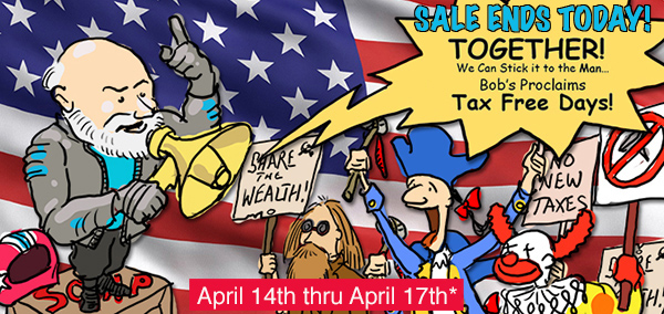 Bob's BMW Tax Free Days
