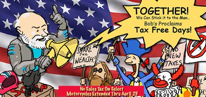 Tax free days at Bob's BMW