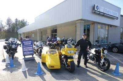 Exterior of Bob's BMW Motorcycles