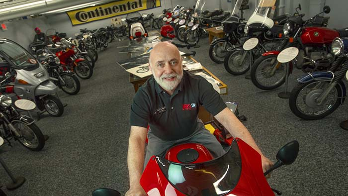 Bob Henig at his Vintage Museum
