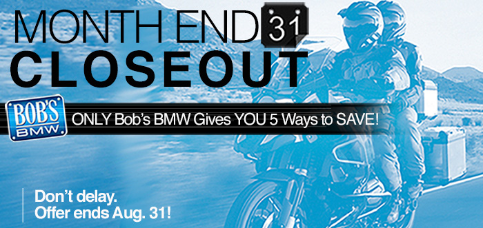Bob's BMW End of Month Sale