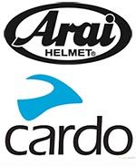 Arai Helmets and Cardo Comm Systems